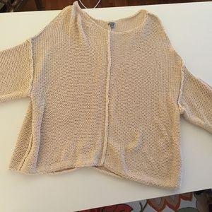 Aerie cream sweater